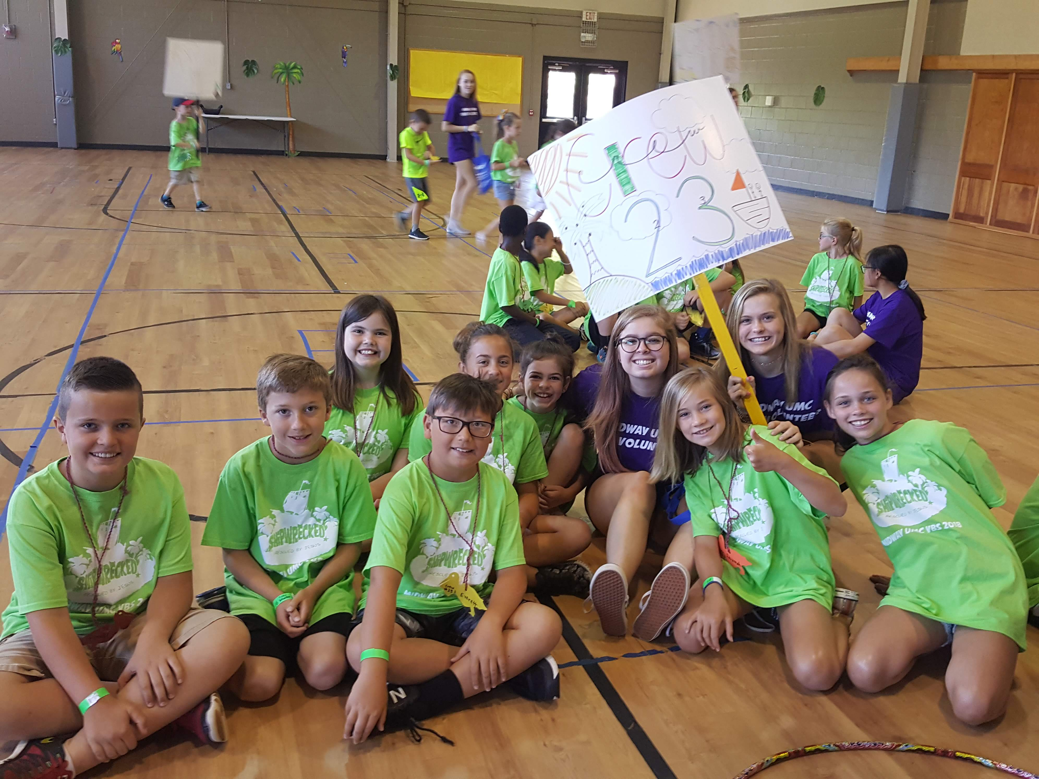 Vacation Bible School (VBS) - Midway United Methodist Church